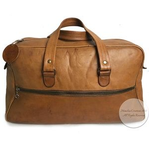 Coach Flight Bag Early 60s Archive Baseball Tag